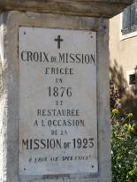 Caussiniojouls - Croix de Mission (4)