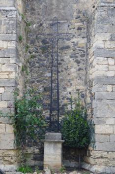 Nizas - Eglise - Croix de mission (3)