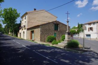 Espondeilhan - Rue Notre Dame des Pins - Rue du Château - D15 (3)