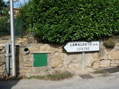 Lamalou - Chemin de Roucarasse - Avenue de Capimont