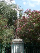 Margon - Croix de Mission - Place de Gaulle (3)
