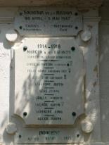 Margon - Croix de Mission - Place de Gaulle