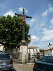 Pouzolles - Croix de Mission - Rue Martial Calas - Rue de l'Eglise (4)
