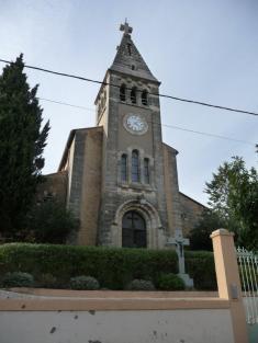 Paulhan - Sainte-Croix - Eglise Sainte-Croix (2)