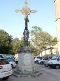 Tourbes - Croix de mission - Place de l'église (1)
