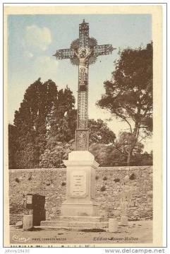 Magalas - Croix de mission - Av de Béziers D18 - Rue Joliot-Curie (1)