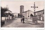 Place de l'église - Alignan