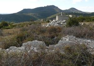 Montpeyroux - Croix de l'Yeuse - D122