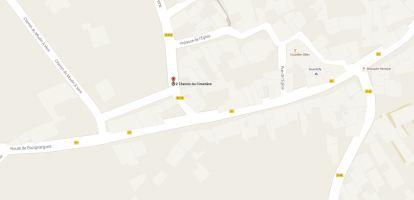 Galargue - Ch de la Peine map
