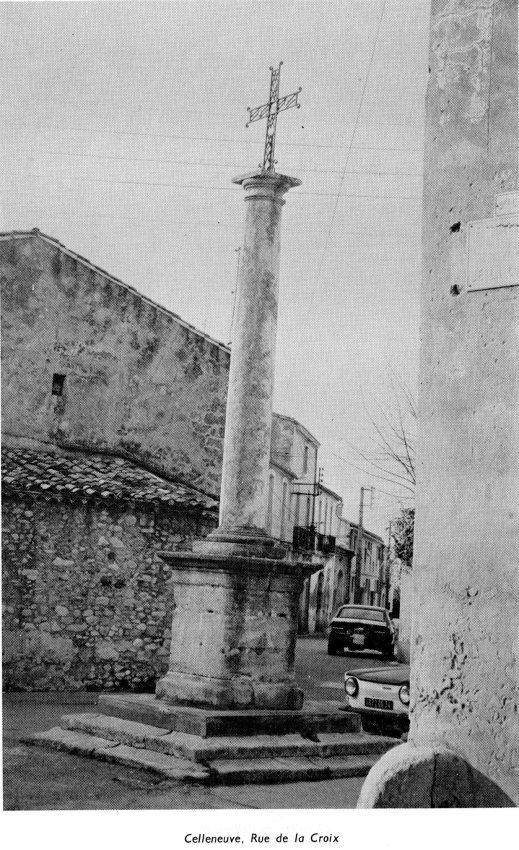 Montpellier - Croix de Celleneuve - Rue de la Croix - Henri Brossolette 1984 (2)