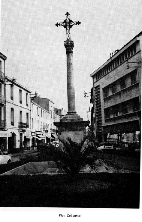 Montpellier - Croix du Plan Cabannes - Rue du Courreau - Rue de l'Ecole de Droit - Henri Bressolette 1984