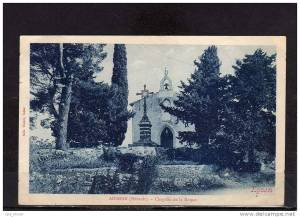 Adissan - Chapelle de la Roque_1 CP