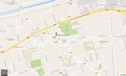 Lunel-Viel - 40 Place du 14 juillet map