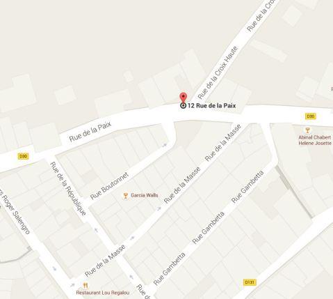 Saint-Pargoire - Croix Haute - Rue de la Paix D30 - Rue de la Croix Haute (4)