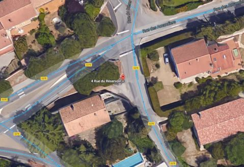 St-Georges d'Orques - Rue du Réservoir D27E - Rue des Amandiers-2